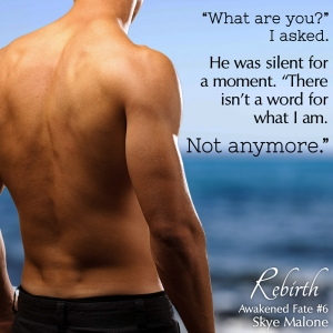 What are you? REBIRTH: Awakened Fate Book Six