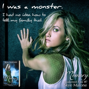 I was a monster... MEMORY: Awakened Fate Book Seven