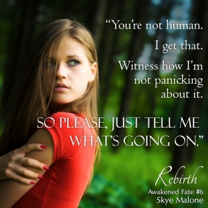 You're not human... Rebirth: Awakened Fate Book Six