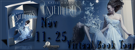 Untethered by Katie Hayoz - Bewitching Book Tours Banner
