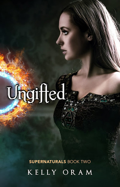 Ungifted Cover by Kelly Oram