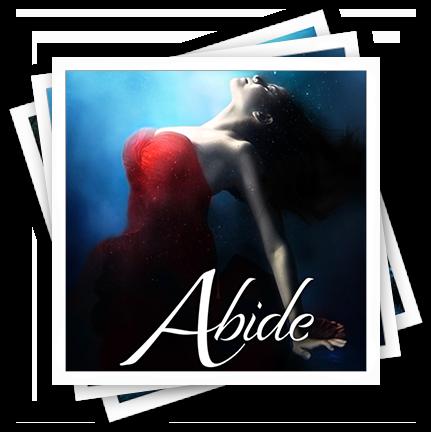 Abide Cover Polaroid