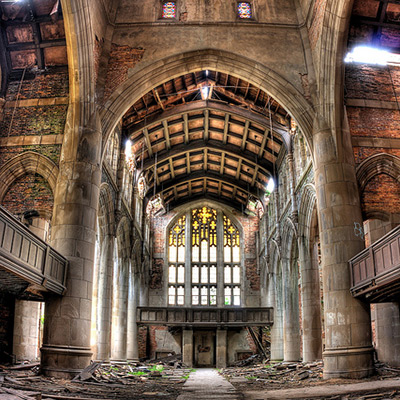 Abandoned Church - Image by slworking2 of Flickr