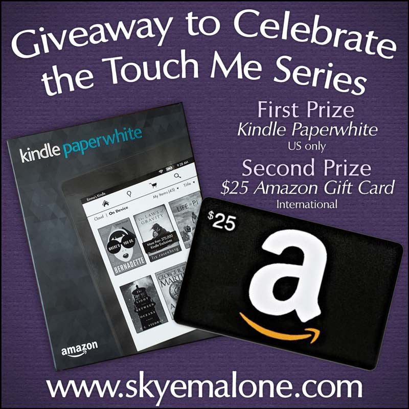 Enter My Giveaway for a Kindle Paperwhite!