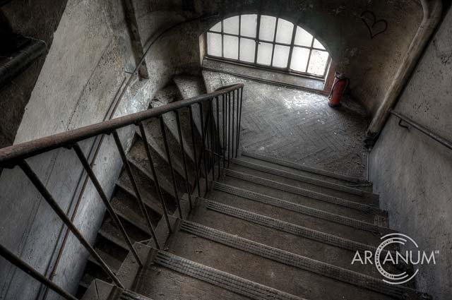 Stairway by Jan Bommes