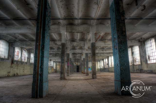 Factory Floor by Jan Bommes
