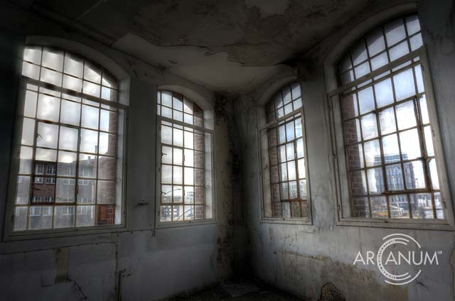 Factory Windows by Jan Bommes