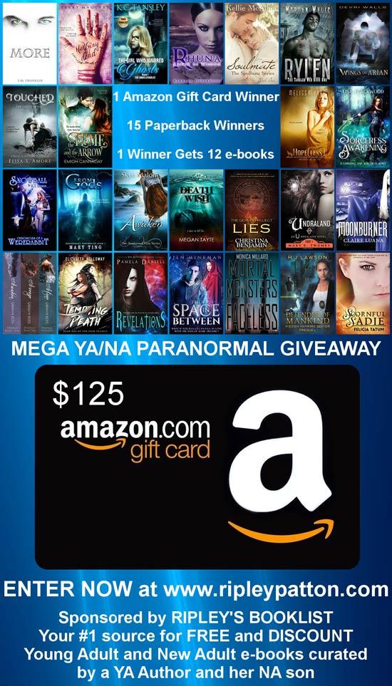 Mega YA-NA Paranormal Giveaway!