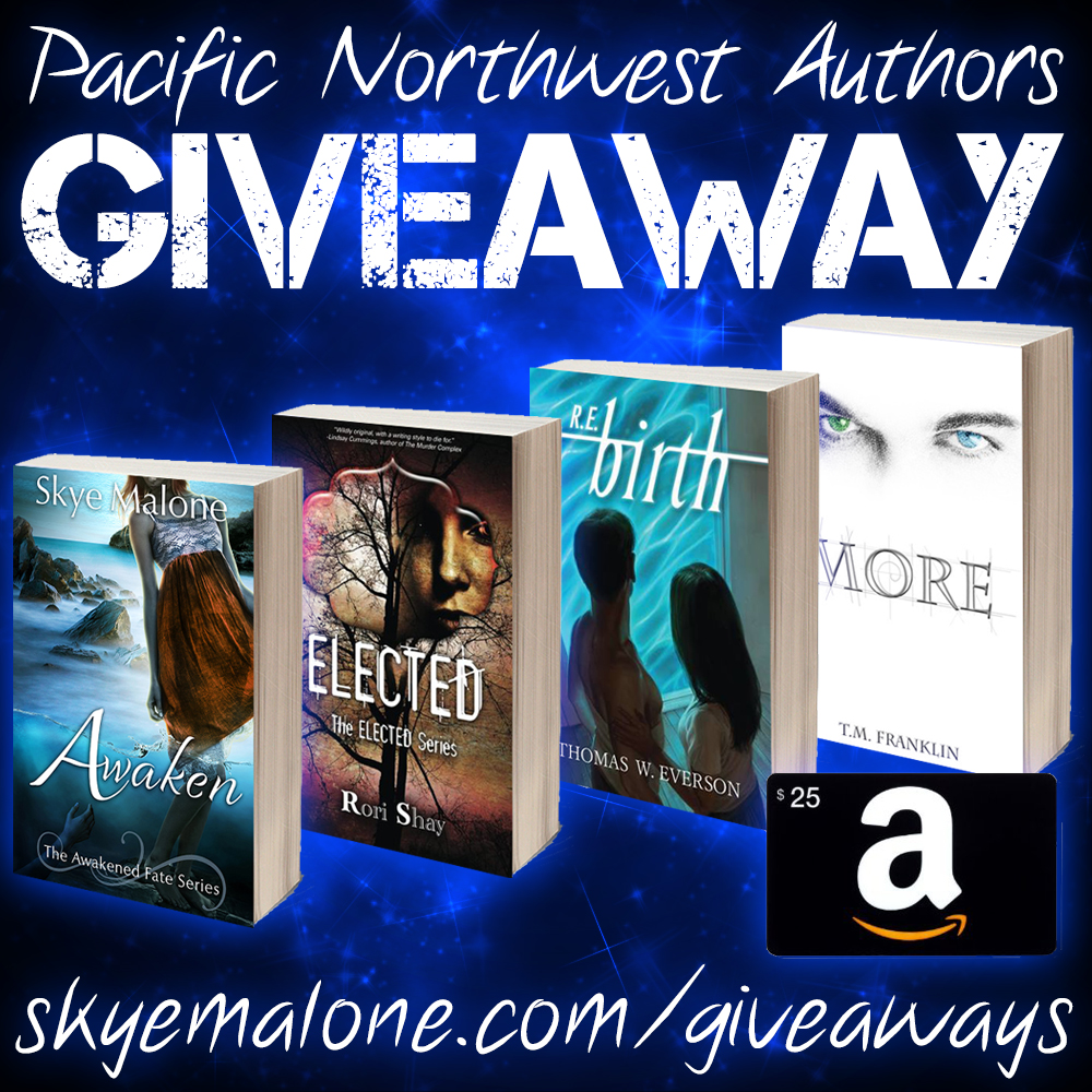 Pacific Nortwest Authors Giveaway Picture