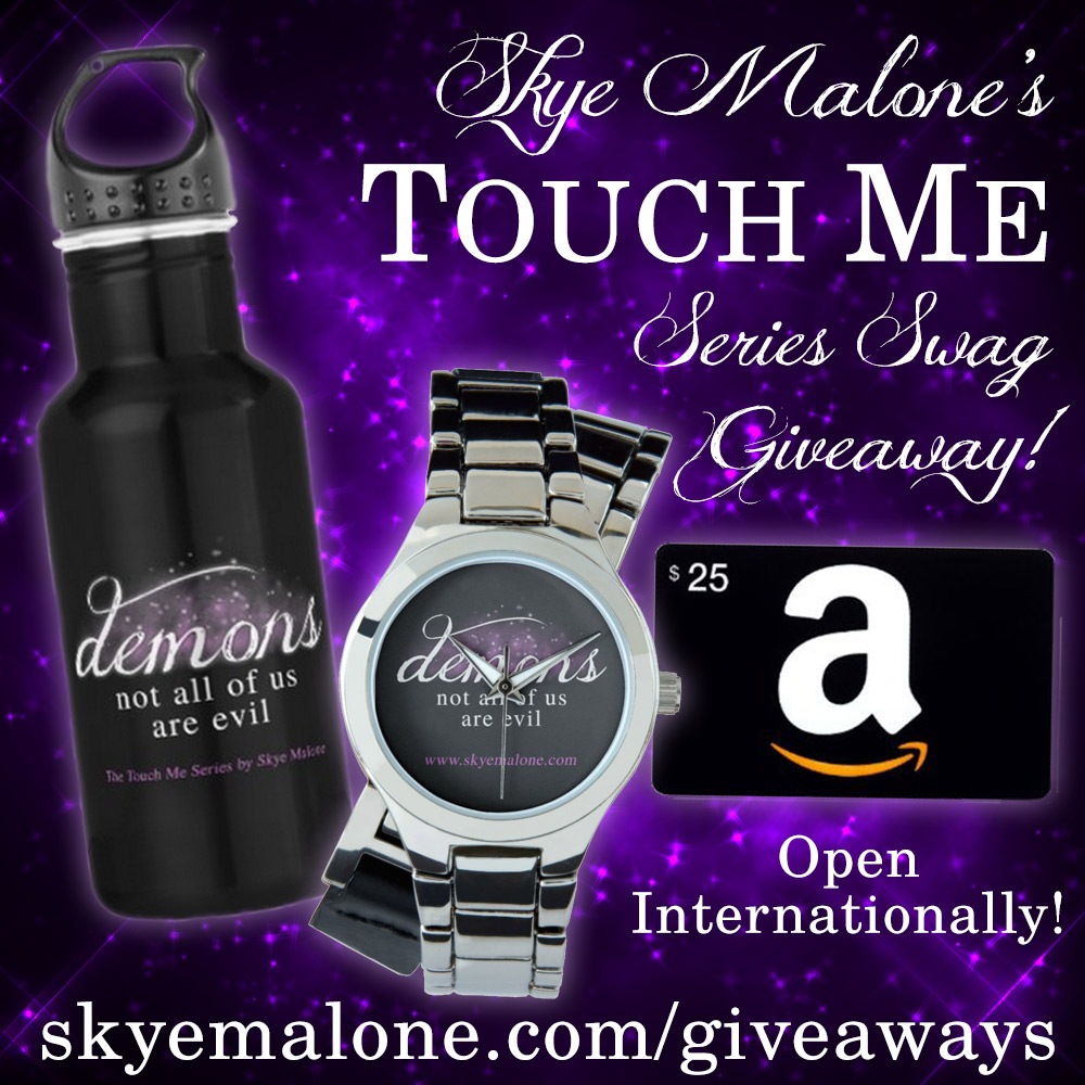 Touch Me Series Swag Giveaway Graphic