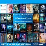 Mega YA/NA Paranormal Giveaway!