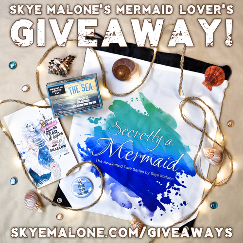 Skye Malone's Mermaid Lover's Giveaway!