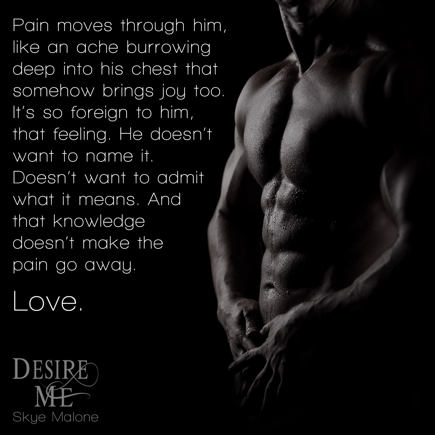 Desire Me by Skye Malone - New Adult Paranormal Romance - Teaser Excerpt