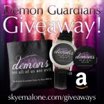 Giveaway to celebrate Desire Me: Book Two of the Demon Guardians!
