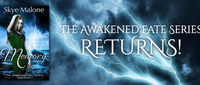 Banner for Memory: Book Seven of the Awakened Fate Series