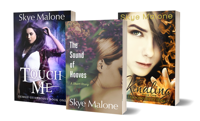 Book covers of free books by Skye Malone