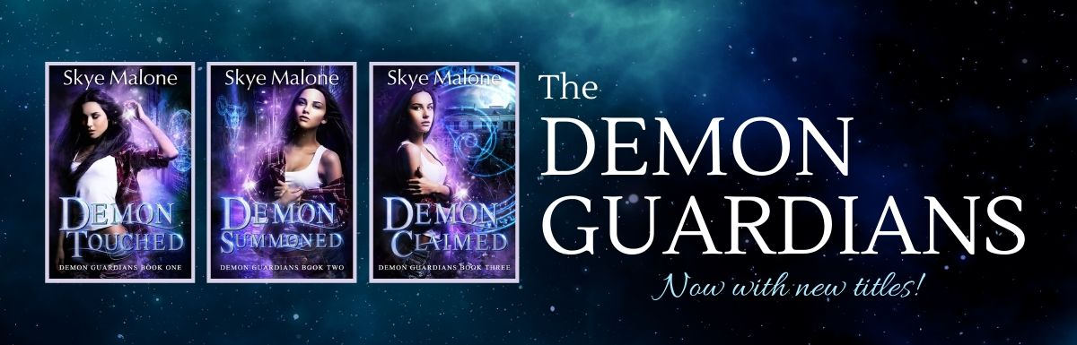 Demons and Romance and… New Titles!