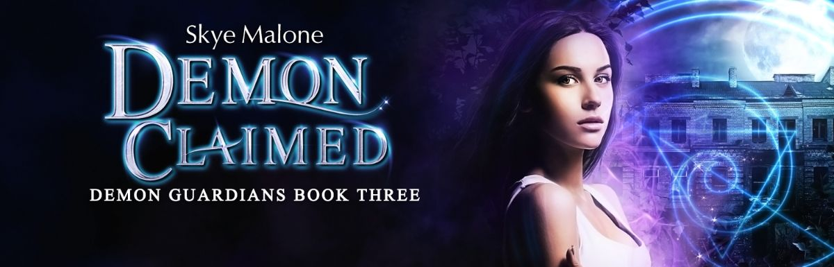 New release! Demon Claimed: Book Three of the Demon Guardians!